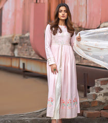 Binilyas Digital Embroidered Winter Collection 1851 A