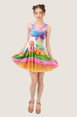 Candyland Sweet Skater Dress