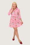 Sweetie Sweetie Mini Skater Shirt Dress