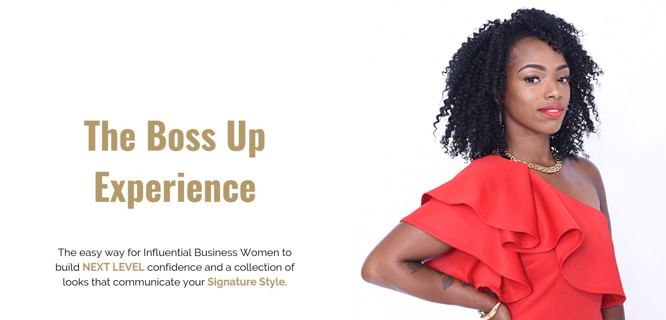 The easy way to for influential business women to build next level confidence and a collection of looks that communicate your signature style