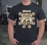 Ashton Route66 T-shirts - Lyndaz