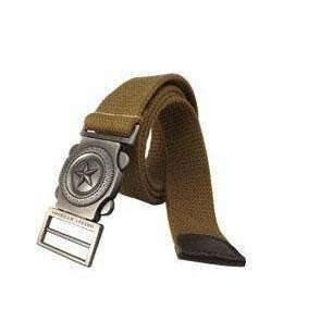 Fred Canvas Belt - sashabellabylyndaz