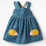 Emilia applique dresses - Lyndaz
