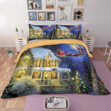 Thompson Christmas Bed LInen - Lyndaz
