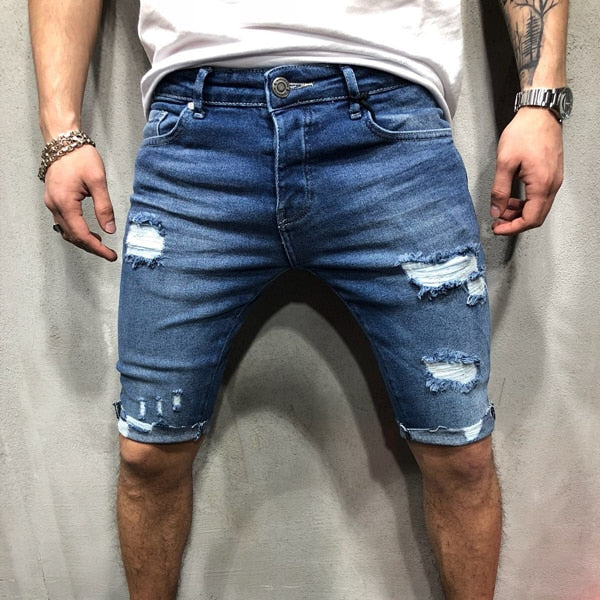 Mark Denim Shorts - Lyndaz