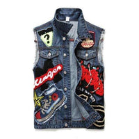 Grayson Denim Vests