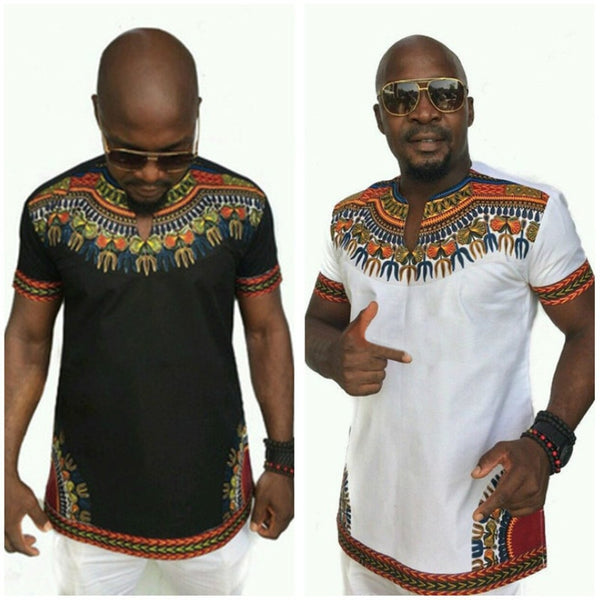 Howard Dashiki T Shirt - sashabellabylyndaz