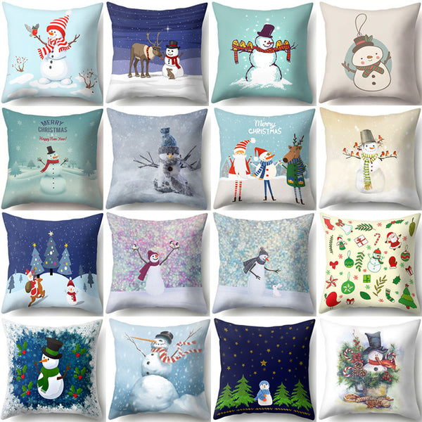 Noel Christmas Cushion Cover - Lyndaz