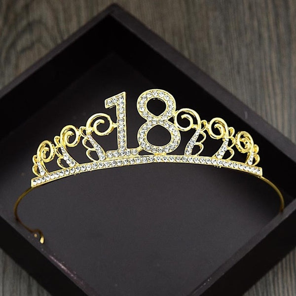 Brooke 18th Birthday Tiara - Lyndaz