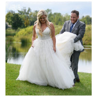 Judith Plus Size Wedding Dress - Lyndaz