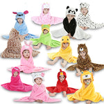 Samuel Animal Baby Sleepers - sashabellabylyndaz