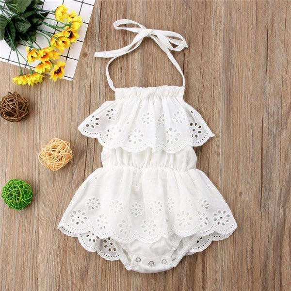 Snowflakes Infant Romper