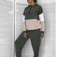 Brooklyn patchwork sports wear - sashabellabylyndaz