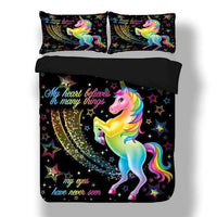 Unicorn Duvet Cover Set - Lyndaz