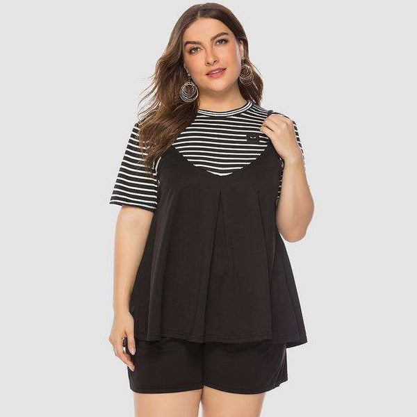 Hazel plus size swimwear