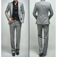 Jerome Black Lapel Suit - sashabellabylyndaz