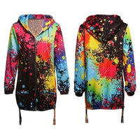 Audrey Multicoloured Jacket - sashabellabylyndaz