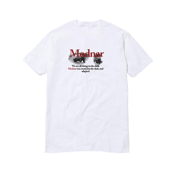 Dark Eyes Tee - White