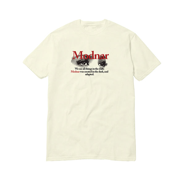 Dark Eyes Tee - Cream