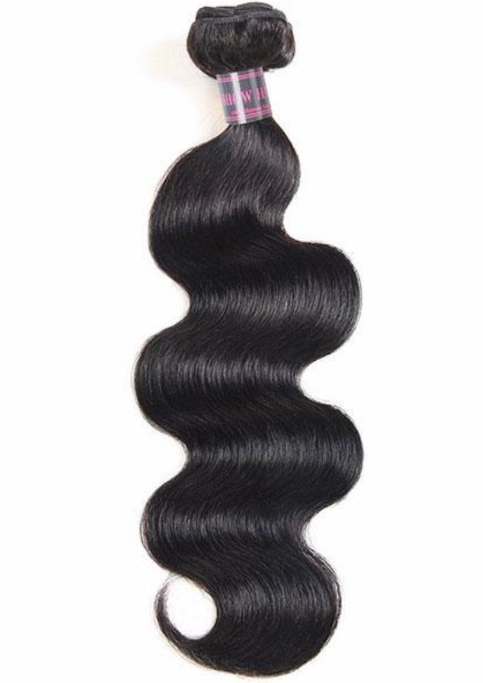 Body Wave Virgin Human Hair Extensions 1 Bundle