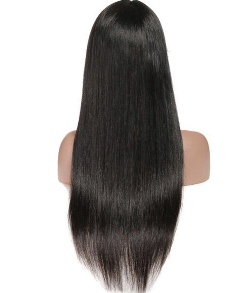 13*6 Straight Human Hair Wigs 150% Density Lace Front Wig