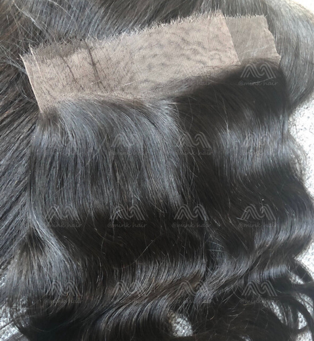 Mink Hair Body Wave/Straight 13x4 HD Frontal