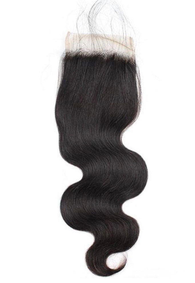 Body Wave Human Hair 4x4 Lace Closure
