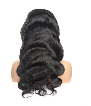 360 Body Wave Human Hair Wigs Lace Front Wig