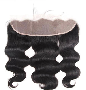 Body Wave Transparent Human Hair 13x4 Lace Frontal