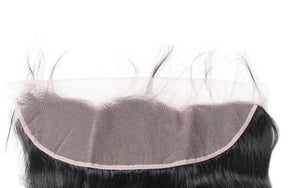 Straight Transparent Human Hair 13x4 Lace Frontal