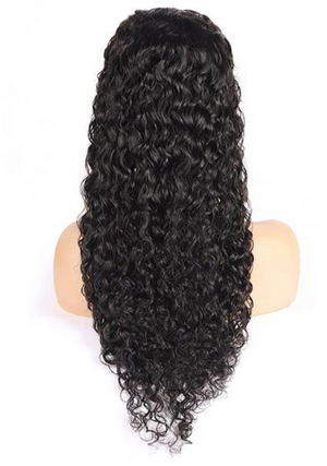 13*4 Water Wave Lace Front Wig HD Transparent Lace Wig