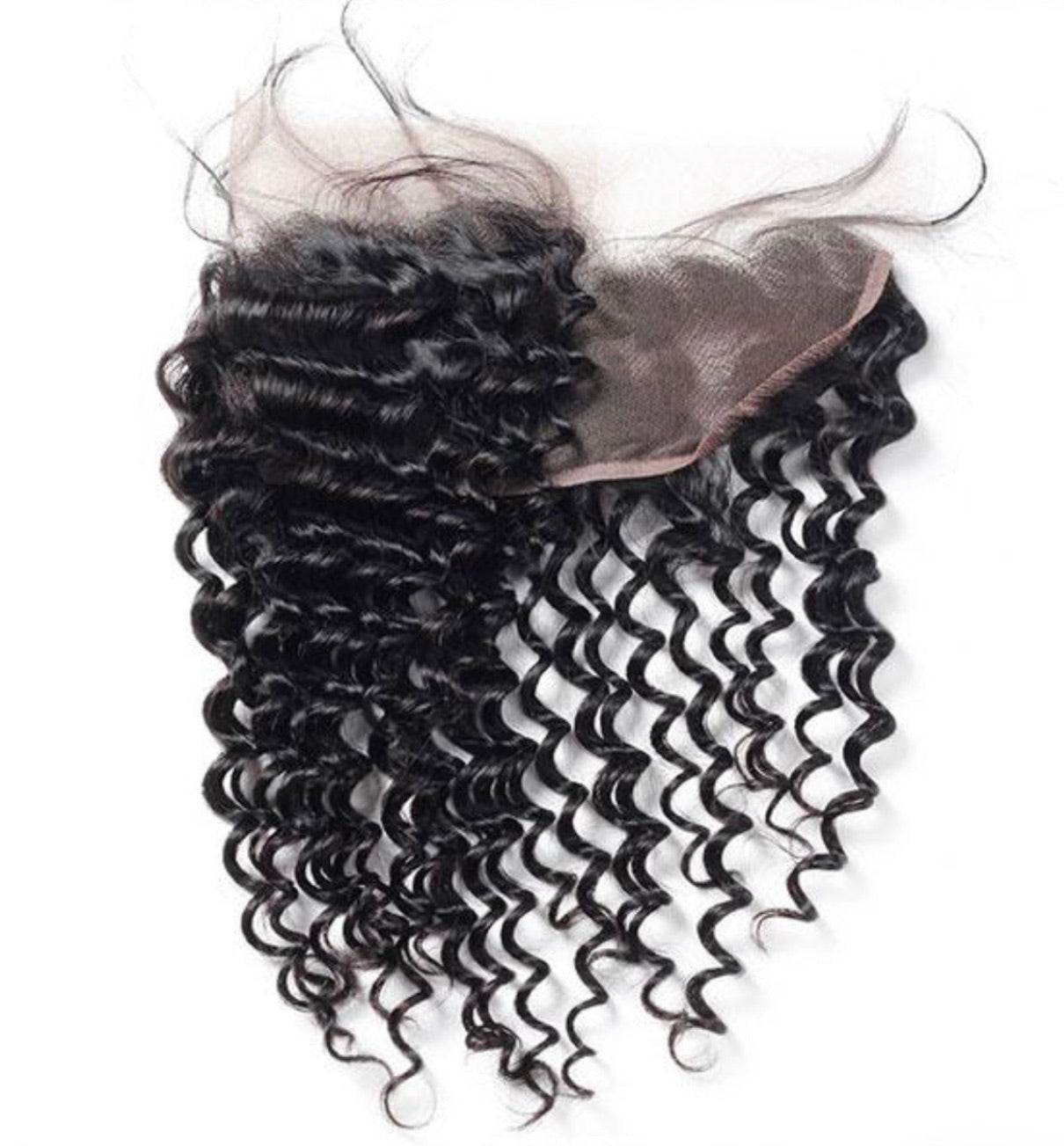 Deep Wave Human Hair 13x4 Lace Frontal