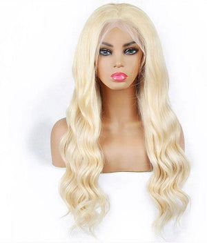 13*4 Body Wave 613 Blonde Human Hair Wigs Lace Front Wig