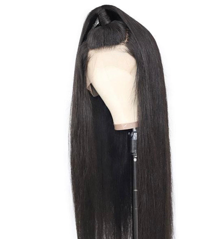 13*4 Straight Human Hair Wigs 150% Density Lace Front Wig ( Up to 34 Inches)