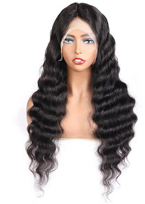 13*4 Loose Deep Lace Front Wig Transparent Lace Wig