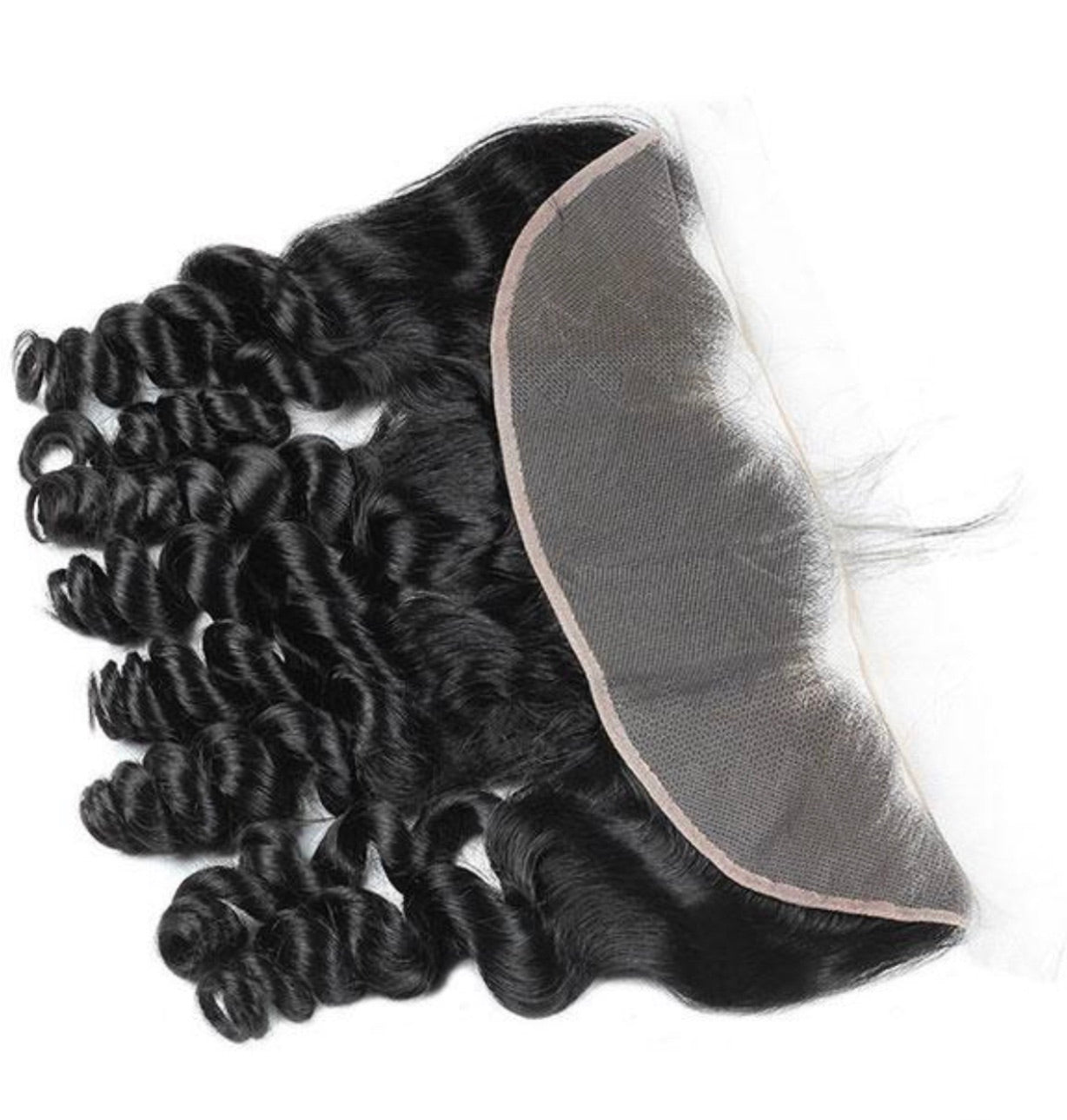 Loose Wave Human Hair 13x4 Lace Frontal