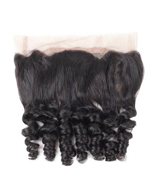 Loose Wave Human Hair 360 Lace Frontal