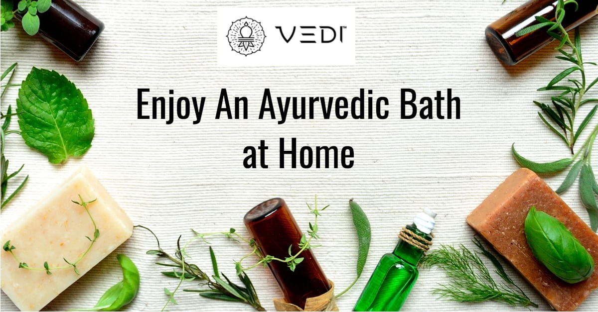 Enjoy an Ayurvedic Bath at Home