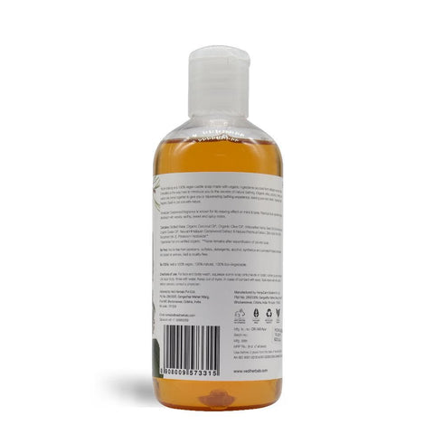 HIMALAYAN CEDARWOOD & PATCHOULI LIQUID CASTILE SOAP(300ml)