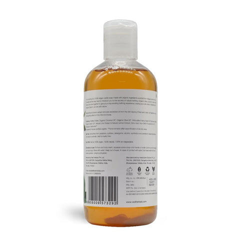 LIME & LEMON LIQUID CASTILE SOAP(300ml)