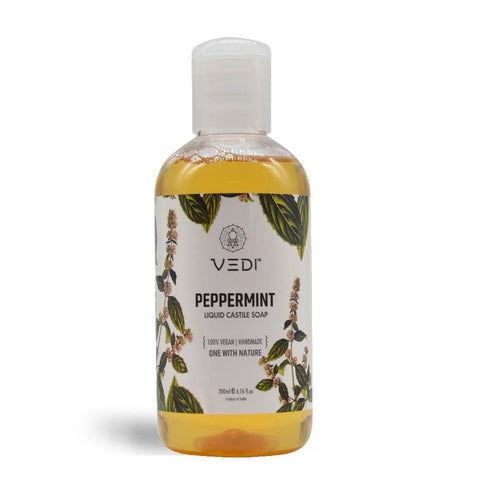 PEPPERMINT LIQUID CASTILE SOAP(200ml)