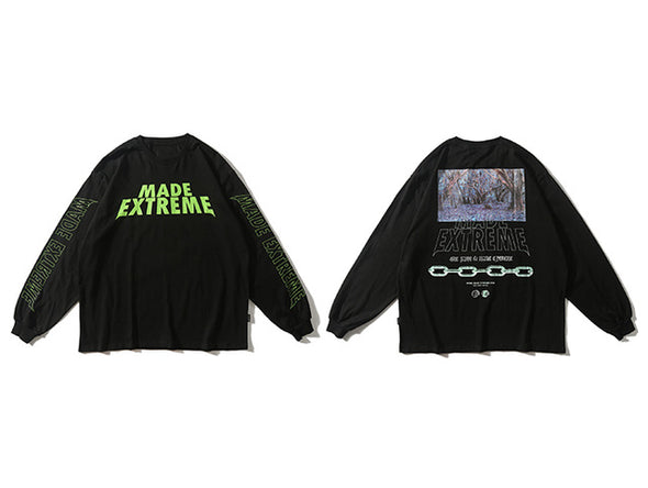 Extreme Forest Long Sleeve T-Shirt