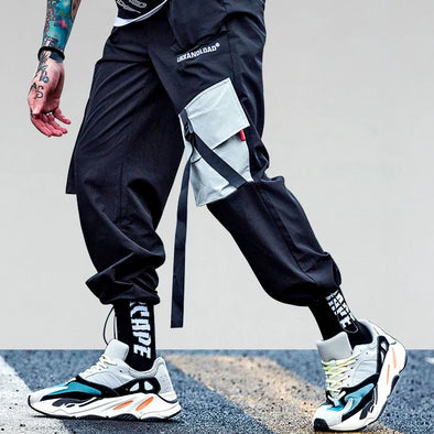 Strapped Utility Jogger