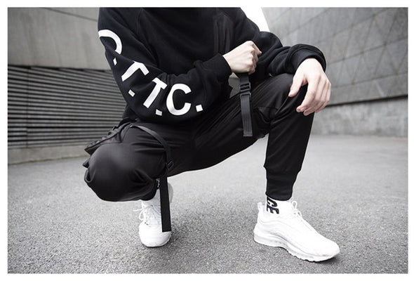 Black Midnight Jogger
