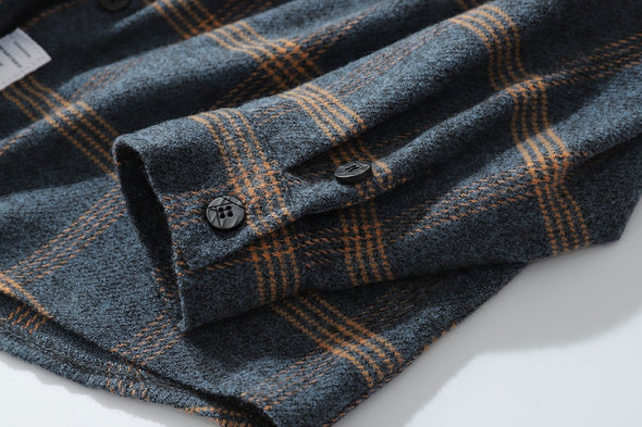 Flannel Double Pocket Shirt