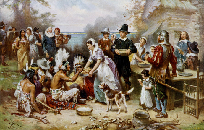 A Story of Thankfulness: Dogs at the First Thanksgiving