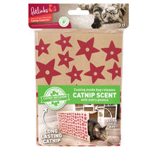 Load image into Gallery viewer, Petlinks Catnip Caverns Hideout Bags Cat Toys, 3 count