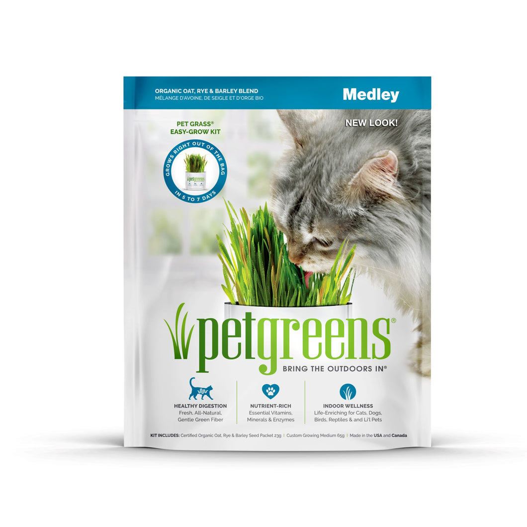 Pet Greens Organic Medley Self Grow Kit