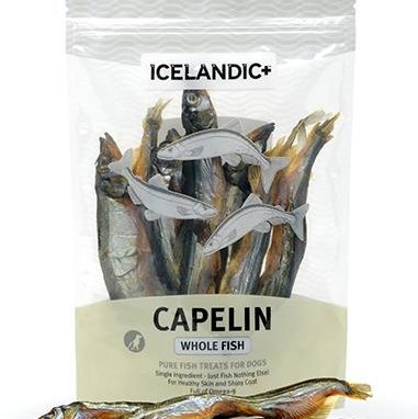 Icelandic+ Capelin Whole Fish Dog Treat