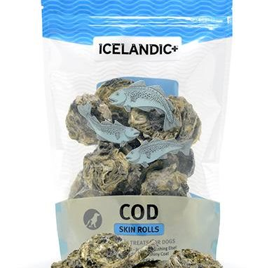 Icelandic+ Cod Skin Rolls Dog Treat
